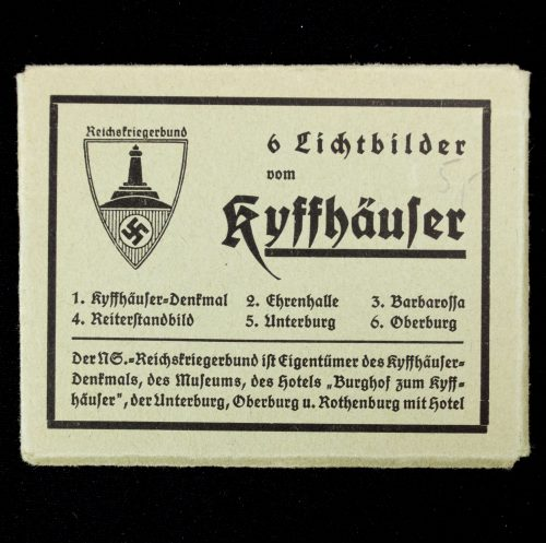 Small map with 6. Lichtbilder von Kyffhauser