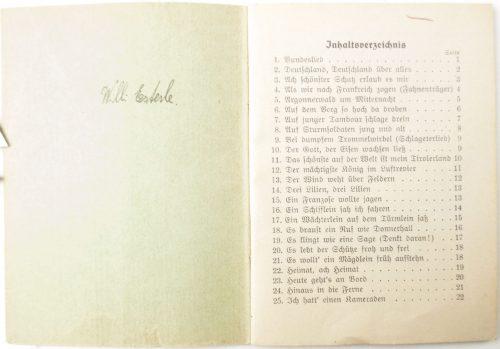 Stahlhelmbund / Der Stahlhelm - Bundes - und Soldatenlieder