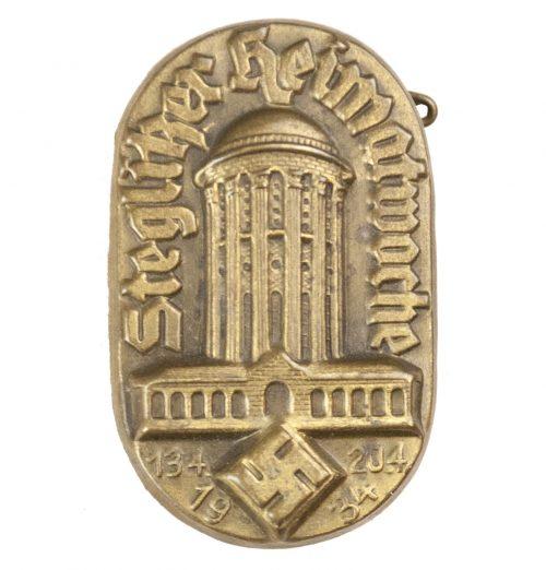 Steglitzer Heimatwoche 1934 abzeichen