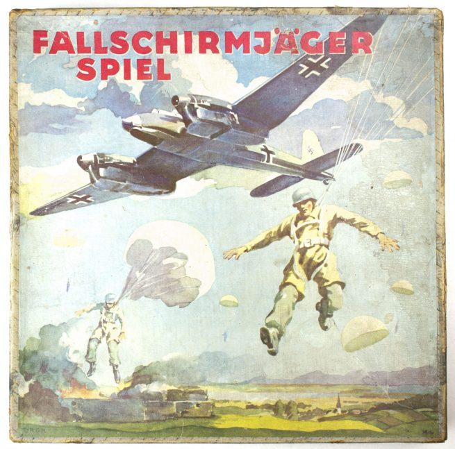 WWII Game: Fallschirmjäger Spiel (rare!)