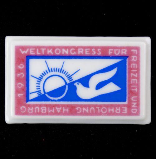 Weltkongress für Freizeit und Erhohlung Hamburg 1936