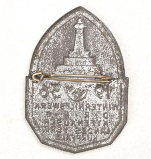 Winterhilfswerk DRKB Kyffhäuser Landesverband Kurpfalz badge