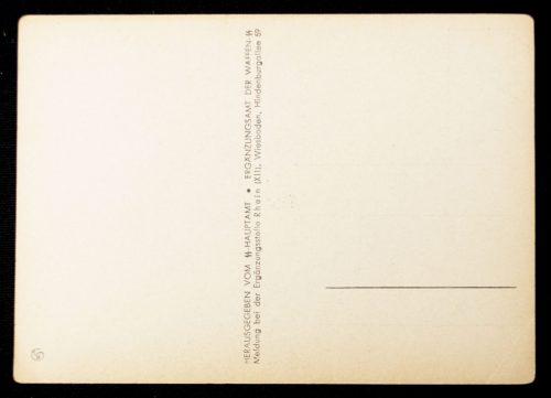 Postcard: Waffen SS - Melde Dich freiwillig zut Waffen-SS (by artist Anton)