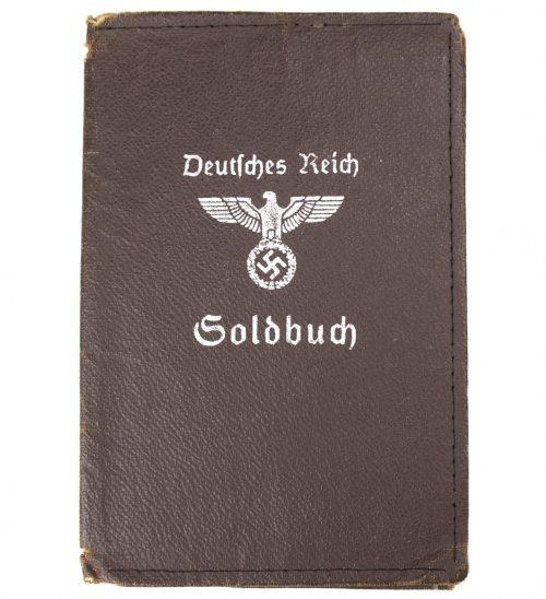 Deutsches Reich Soldbuch Hülle