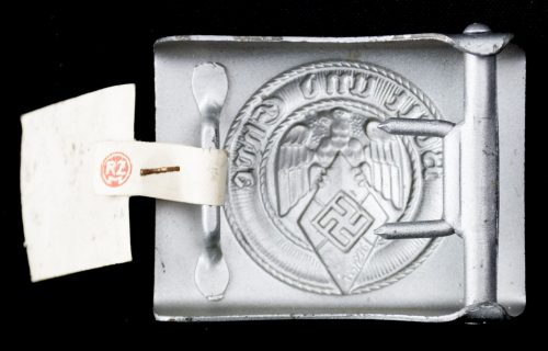 Hitlerjugend (HJ) unissued buckle with RZM tag (M4/116 Camill Bergmann & Co Gablonz)