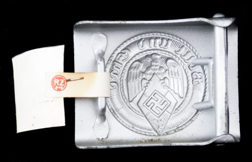 Hitlerjugend (HJ) unissued buckle with RZM tag (M4/116 Klein & Quenzer)