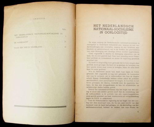 (NSB) De NSB in oorlogstijd: de feiten: de aanklacht van den Leider (1940)