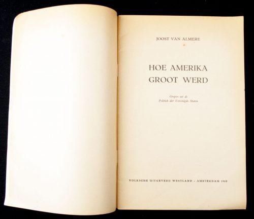 (NSB) Hoe Amerika groot werd (1943)