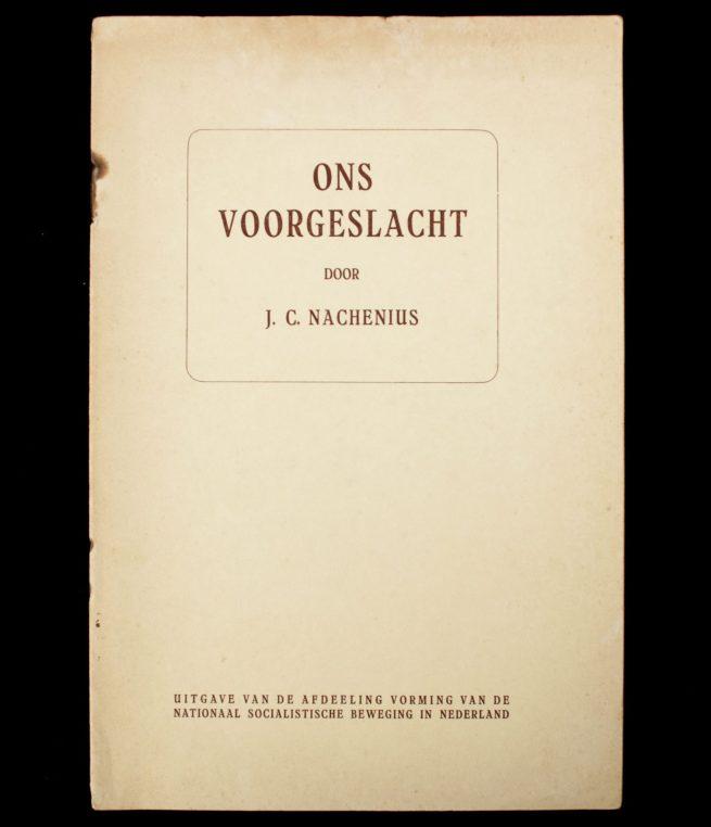 (NSB) Jan Coenraad Nachenius : Ons voorgeslacht