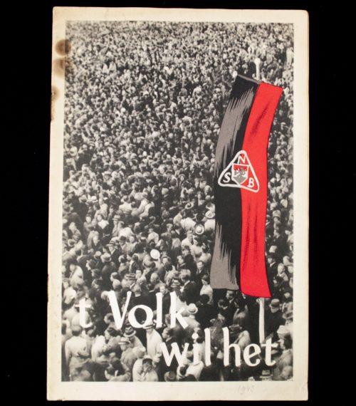 (NSB) Jan de Haas - 't Volk wil het (1943)
