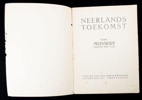 (NSB) - Mussert : Neerlands toekomst