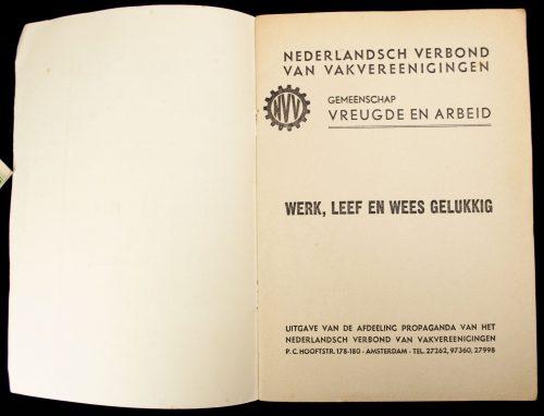 NSB / NVV - Werk, leef en wees gelukkig (1941)