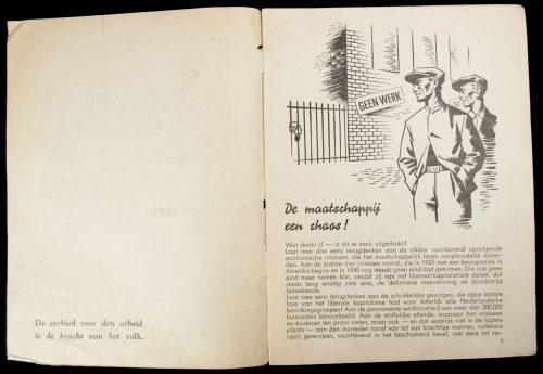(NSB) Nederlandsch Arbeitsfront: De weg tot gemeenschap: na de chaos: de gemeenschap (1942)