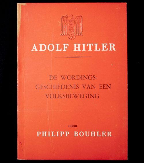 (NSB) - Philipp Bouhler - Adolf Hitler: de wordingsgeschiedenis van een volksbeweging (1942)
