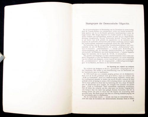 (NSB) Staatsgrepender democratische oligarchie (1937)