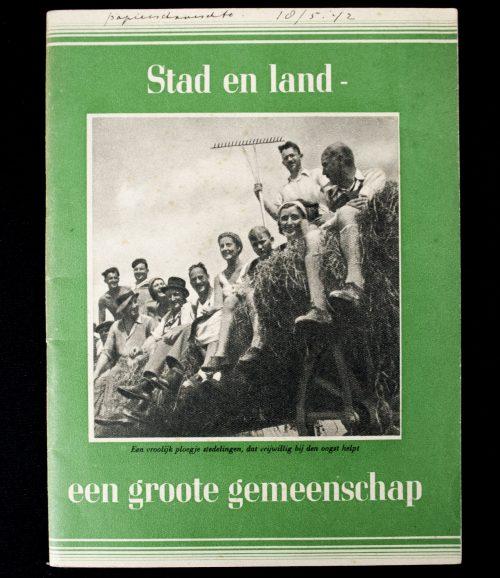 (NSB) Stad en land een groote gemeenschap (1940)