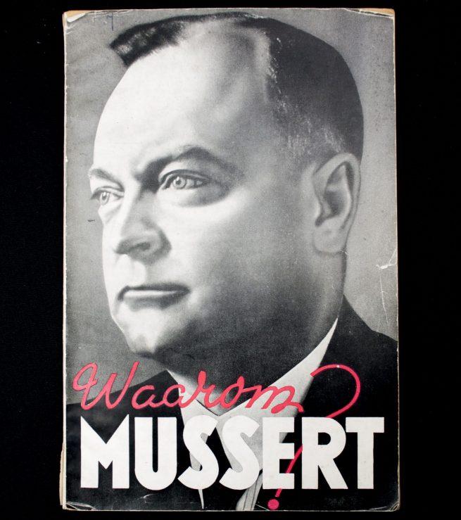 (NSB) Waarom Mussert? (Amsterdamsche Keurkamer)