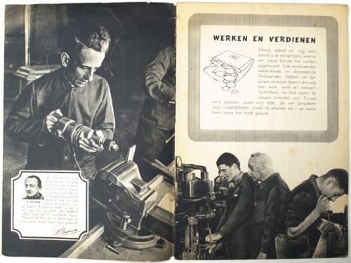 (NSB) Werken en verdienen : arbeid in Duitschland