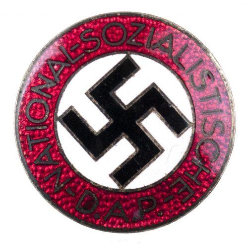 NSDAP Parteiabzeichen M1/34 - Buttonhole variation (maker Karl Wurster)