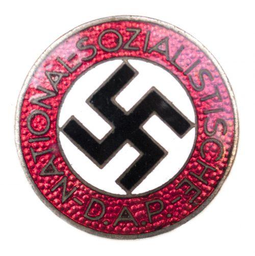 NSDAP Parteiabzeichen M1/34 (maker Karl Wurster)