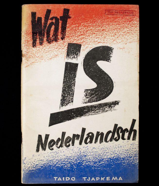 (NSNAP) Taido Tjapkema - Wat is Nederlandsch (1941)