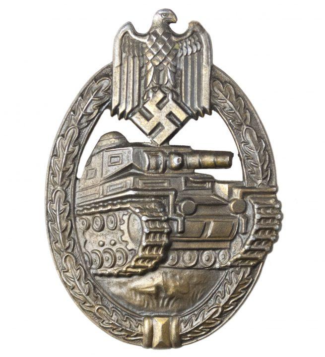 Details about  /GERMAN TANK ASSAULT PANZERKAMPFABZEICHEN BRONZE BADGE PIN-ON
