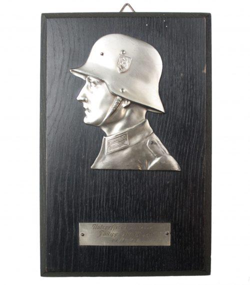 Plakette Unteroffizierschiessen Philipp Stühtinger 14.4.1941