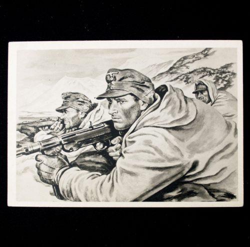 Postcard: Gebirgsjäger (Kriegsberichter Kretschmann)