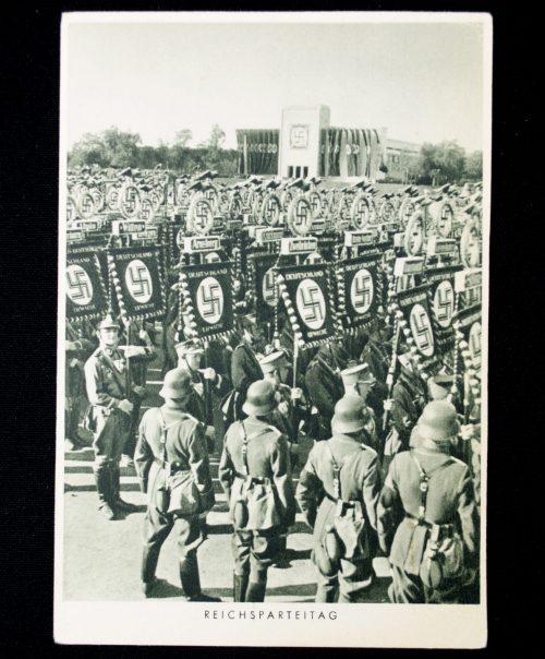 Postcard: Reichsparteitag Fahnenstandarten (Photo Hoffmann)