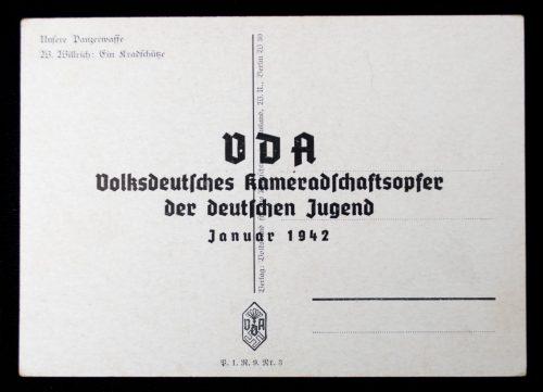 Postcard: Willrich - Ein Kradschütze