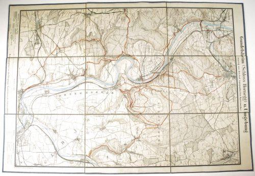 SA der NSDAP Sturm 2/112 - Map Gundelsheim
