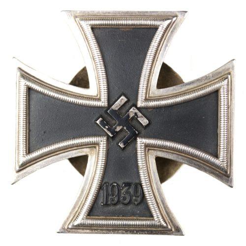 WWII Iron Cross first class (EK1) schraubscheibe / screwback