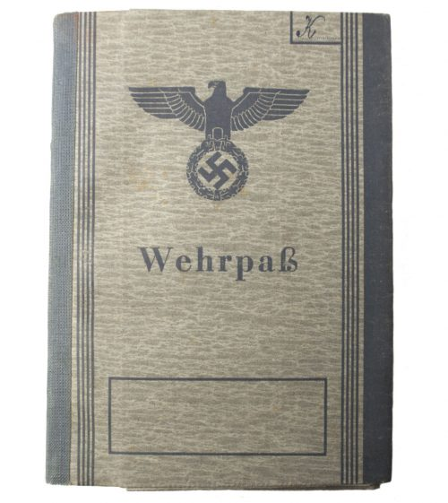 Wehrpass with many medals and battles (Greece, Russia (Stalin-Linie), etc etc)