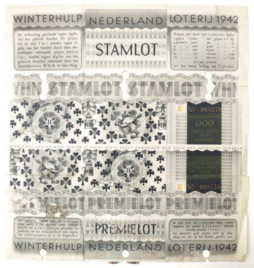 Winterhulp Nederland (WHN) Loterij 1942