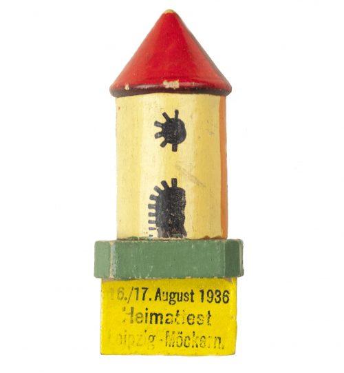 16./17. August 1936 Heimatfest Leipzig-Möckensen abzeichen