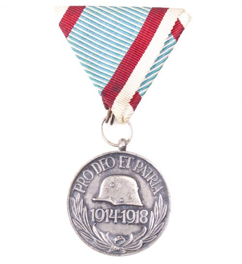 Austro-Hungarian Pro Deo et Patria medal