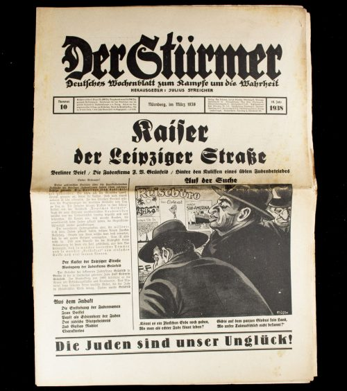 Der Sturmer (Julius Streicher) Nummer 10 (1938)