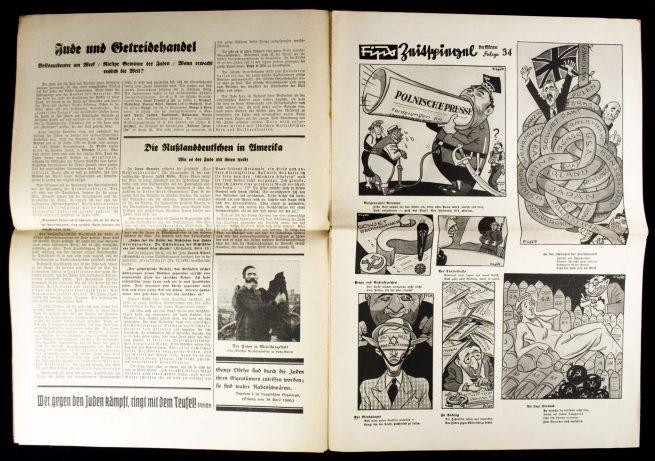 Der Sturmer (Julius Streicher) Nummer 34 (1939) -