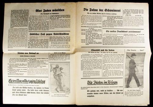 Der Sturmer (Julius Streicher) Nummer 45 (1939) -