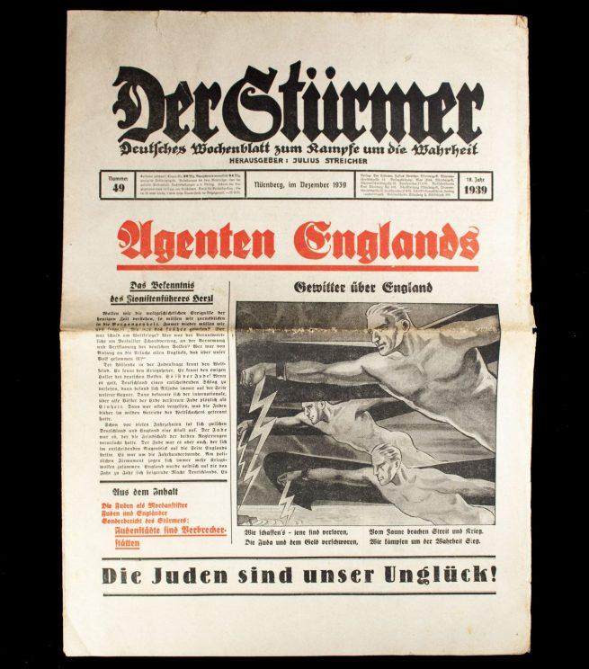 Der Sturmer (Julius Streicher) Nummer 49 (1939) -