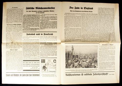 Der Sturmer (Julius Streicher) Nummer 51 (1938)