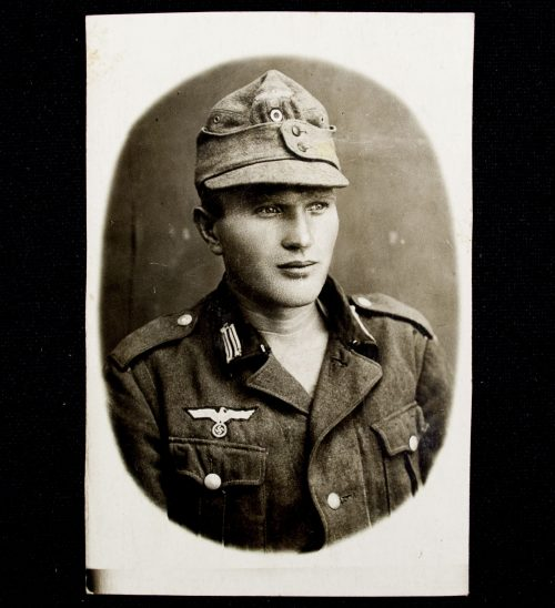 German Soldier interesting portrait photo sent to mother in 1942