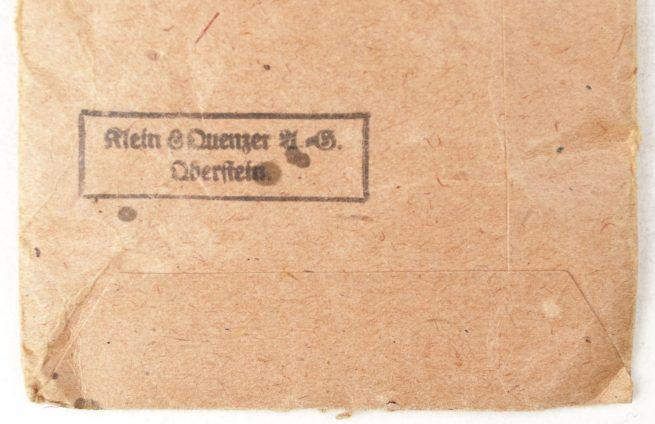 """Kriegsverdienstkreuz 2. Klasse mit Schwertern und Tüte / War Merit Cross 2nd Class with Swords and Bag (maker """"65"""" Klein & Quenzer)"""