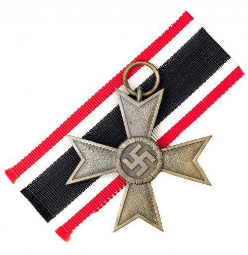 "Kriegsverdienstkreuz 2. Klasse ohne Schwertern / War Merit Cross 2nd Class without Swords maker ""75"" (Francke & Co)"