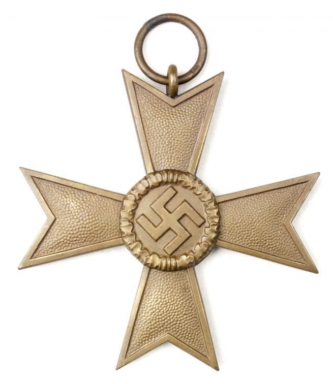 "Kriegsverdienstkreuz 2. Klasse ohne Schwertern und Tüte / War Merit Cross 2nd Class without Swords and Bag (maker ""1"" Deschler)"