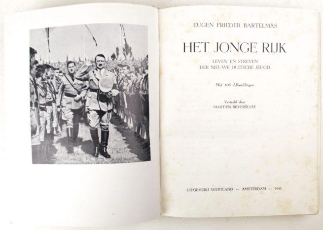 (NSB) Het Jonge Rijk: leven en streven der nieuwe Duitsche jeugd (1943)
