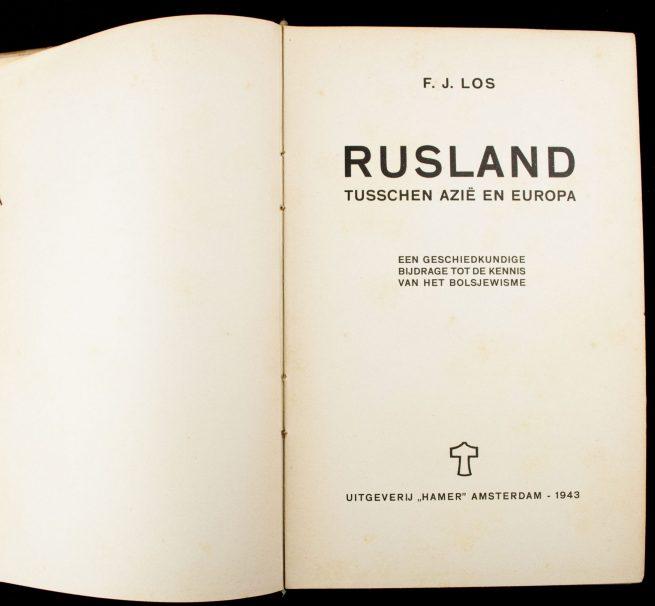 (NSB) Rusland tusschen Azië en Europa : een geschiedkundige bijdrage tot de kennis van het Bolsjewisme