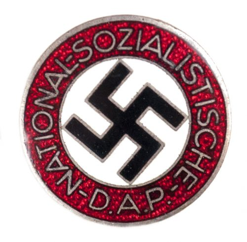 NSDAP Parteiabzeichen M1/101 (maker Gustav Brehmer)