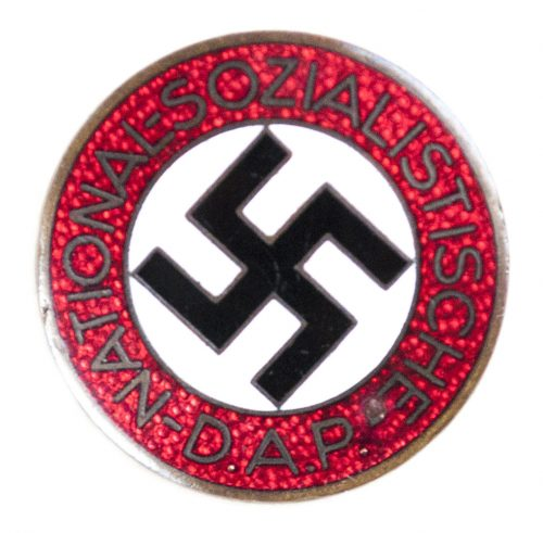 NSDAP Parteiabzeichen M1/127 (Alfred Stübbe)