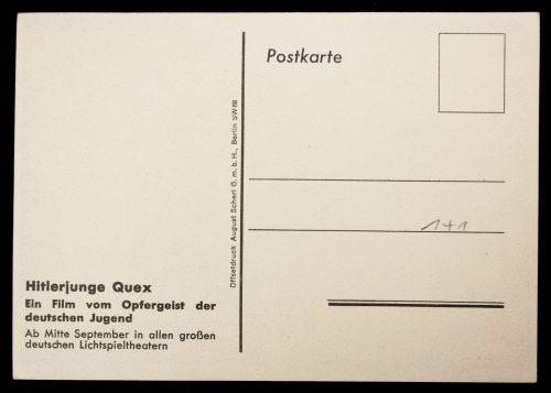 Postcard: Hitlerjugend (HJ) - Hitlerjunge Quex